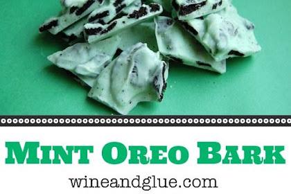 Mint Oreo Bark