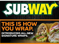 Subway Menu Offers April 17 - July 4, 2018