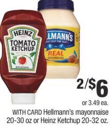 FREE Mayonnaise CVS Deal 825-831