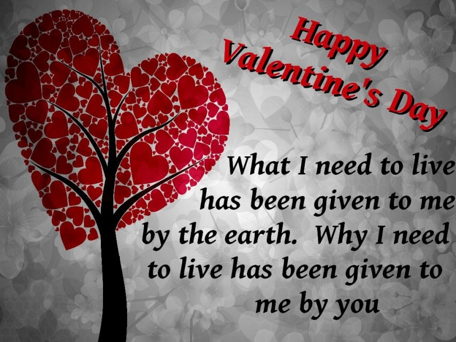 Valentines Day Quotes, Messages, Wishes, Greeting Cards For .