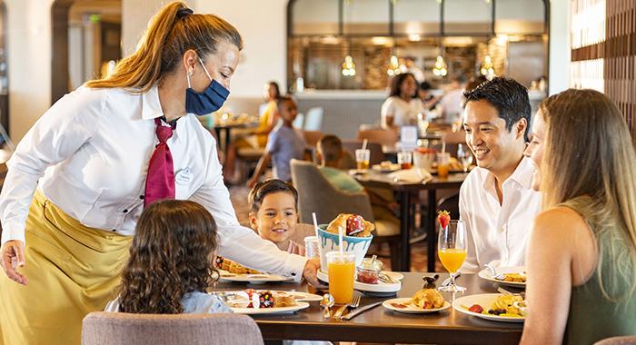 medidas en los restaurante en Walt Disney World.
