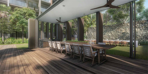 Kent Ridge Residences - Party Deck