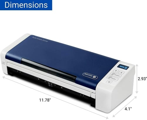 Review Xerox XDS-P Duplex Portable Document Scanner