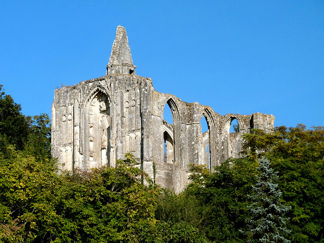 Ruined church of Les Roches Tranchelion, Indre et Loire, France. Photo by Loire Valley Time Travel.