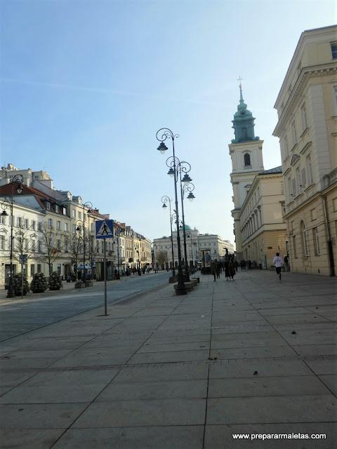 la ruta real por varsovia