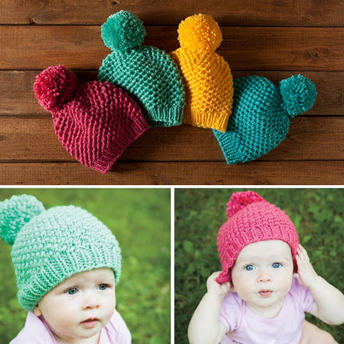 Bee Stitch Hat - Free Pattern