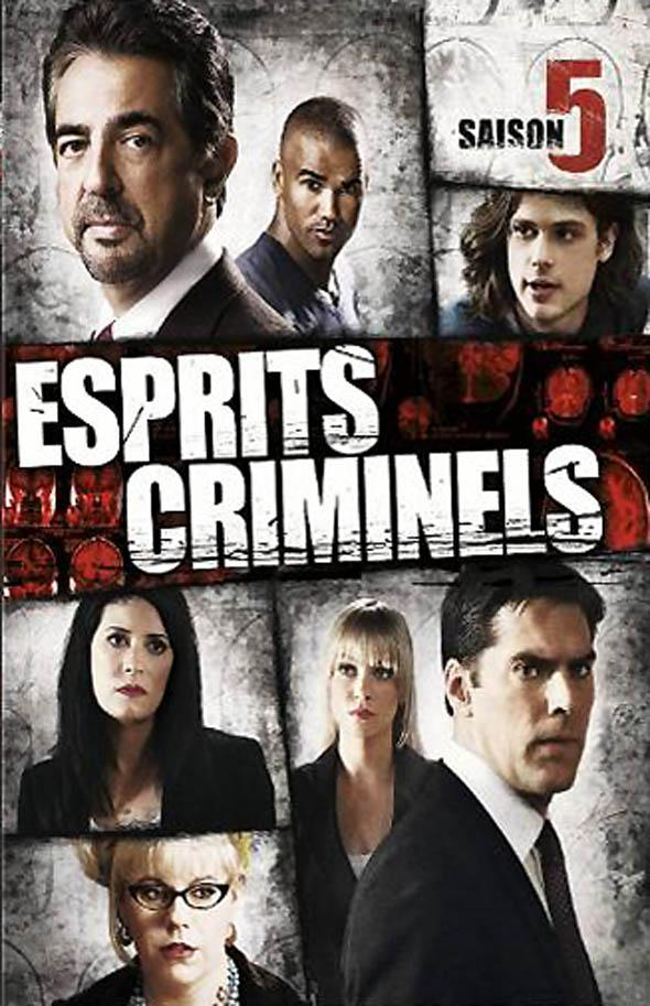 esprits criminels saison 5 series tv. Black Bedroom Furniture Sets. Home Design Ideas