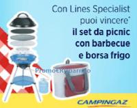 Con Lines Specialist da Acqua&Sapone vinci 10 set da picnic Campingaz