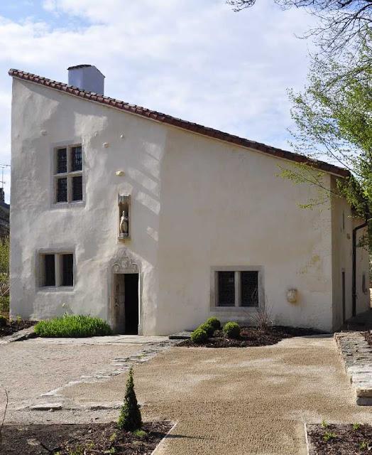 A casa de Santa Joana d'Arc em Domremy