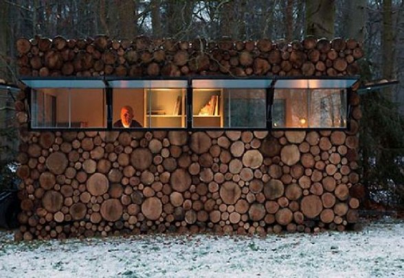 Desain Rumah Kayu Log Cabin Melodies Hilversum Gambar Unik Yg
