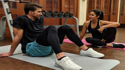 Katrina Kaif giving tough competition to people in the gym