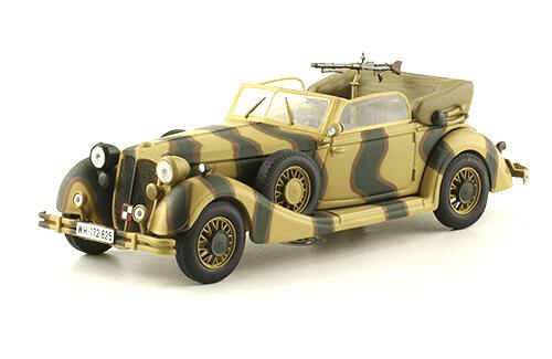 853A CABRIOLET 1:43, voitures militaires de la seconde guerre mondiale