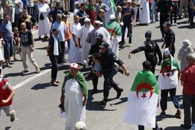 نظام العسكر يحاول خنق الحراك بسلسلة من الاعتقالات