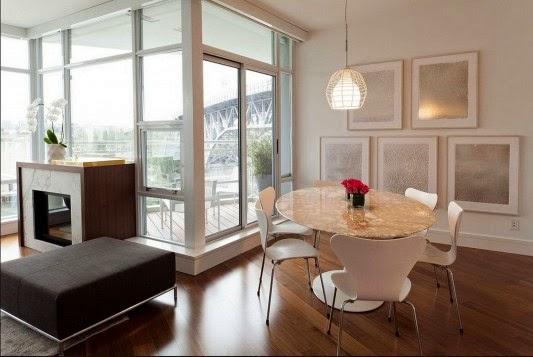 apartamento decorado Casa contempor%C3%A2nea com design feminino