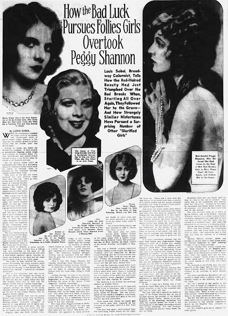 Peggy Shannon Article