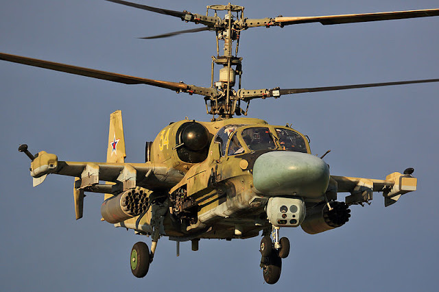 Gambar 01. Foto Helikopter Tempur Kamov Ka-52 Alligator
