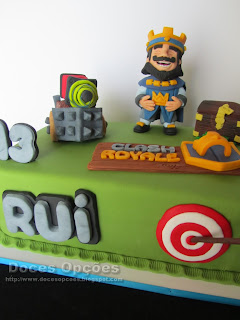 Clash Royale bolos decorados