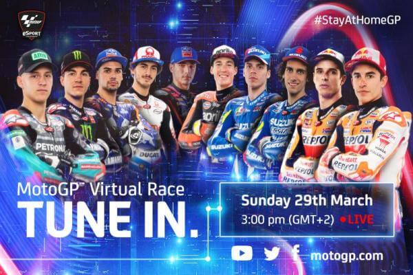 Balap MotoGP Virtual
