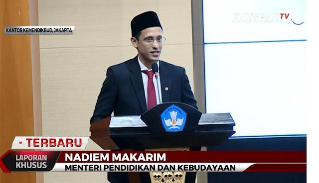 Motivasi Menteri Pendidikan dan Kebudayaan (Mendikbud), Nadiem Makarim di Hari Sumpah Pemuda