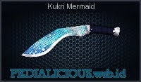 Kukri Mermaid