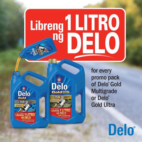 Caltex Delo Gold Multigrade and Delo Gold Ultra Promo
