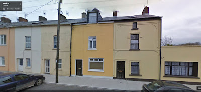 Myra's House on Main St, Croom, Limerick, Ireland http://jollettetc.blogspot.com