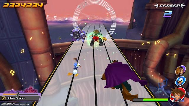 Kingdom Hearts: Melody of Memory - Bastion Hueco