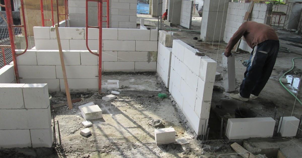 Cara Menghitung jumlah kebutuhan semen mortar untuk