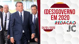 Presidente Jair Bolsonaro em encontro com simpatizantes de seu (des)governo.