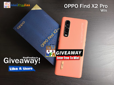 Oppo Find X2 Pro FREE Giveaway