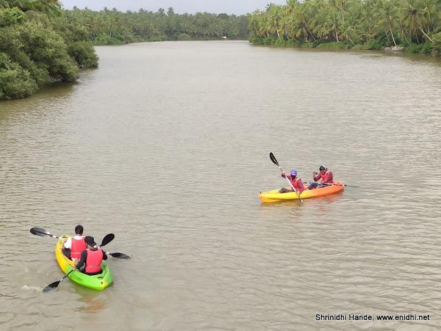 Kayaking in Kemmannu Udupi