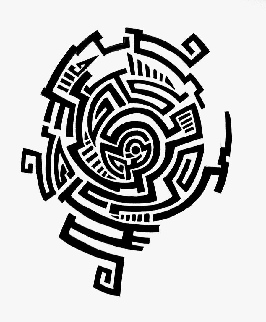 tattoo design maze by feleri d54xs6q
