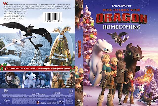 How to Train Your Dragon Homecoming DVD Cover