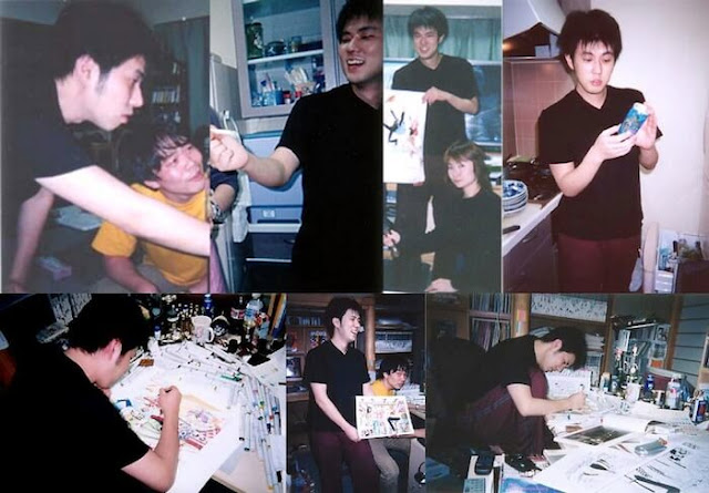 Eiichiro Oda young, messiest workspaces, workspaces, manga artist, manga artist workspaces, manga publishing, Sekaiichi Hatsukoi, One Piece, Hunter x Hunter, Bleack, Inuyasha, comic, japanese manga, manga artist pic, artist, deadline manga, busy schedule