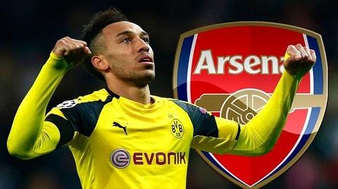Aubameyang đã ký hợp đồng chính thức với Arsenal