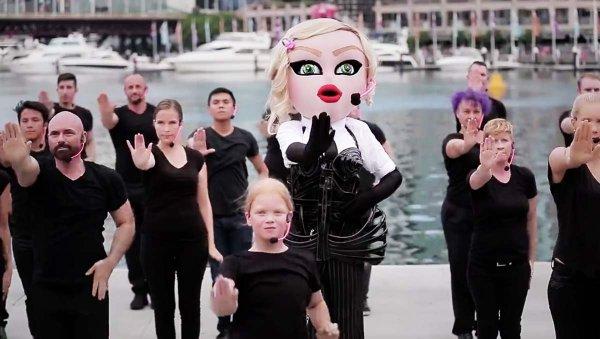 Madonna Sidney Australia viral fans tribute