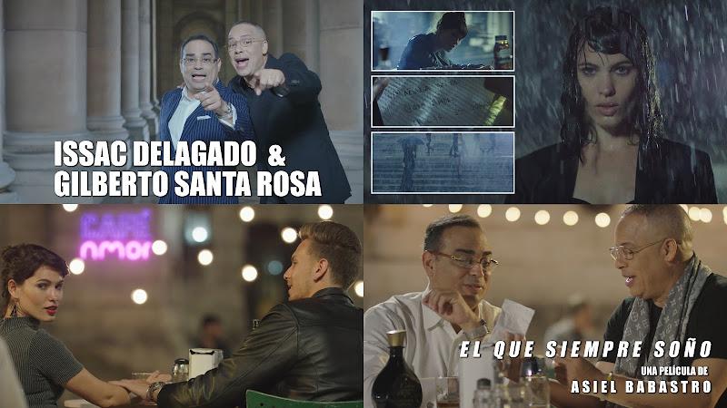 Issac Delgado & Gilberto Santa Rosa - ¨El que siempre soñó¨ - Videoclip - Director: Asiel Babastro. Portal Del Vídeo Clip Cubano