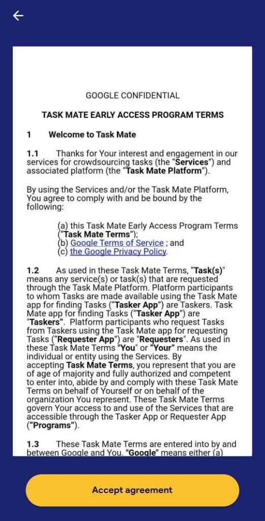 Google Task Mate Tasks