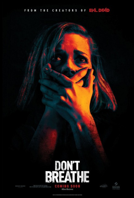 DON'T BREATHE (2016) movie review by Glen Tripollo