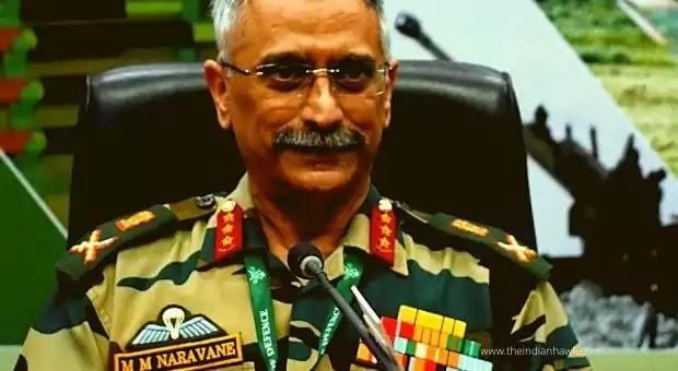 Army chief General M.M. Naravane
