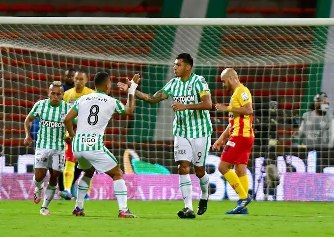 ¡Se sacudió Atlético Nacional! Goleó al Pereira en el Atanasio y recuperó terreno perdido en la Liga