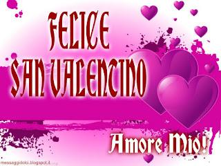 felice san valentino amore mio