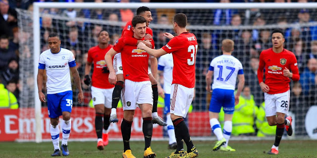 Video Cuplikan Gol: Tranmere Rovers 0-6 Manchester United (FA Cup)