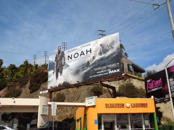 Noah special extension billboard Sunset Strip