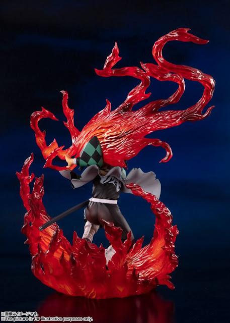 Figuarts Zero Tanjirou Kamado Hinokami Kagura ver. de Kimetsu no Yaiba: Demon Slayer - Tamashii Nations