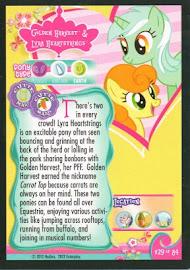 My Little Pony Golden Harvest & Lyra Heartstrings Series 1 Trading Card