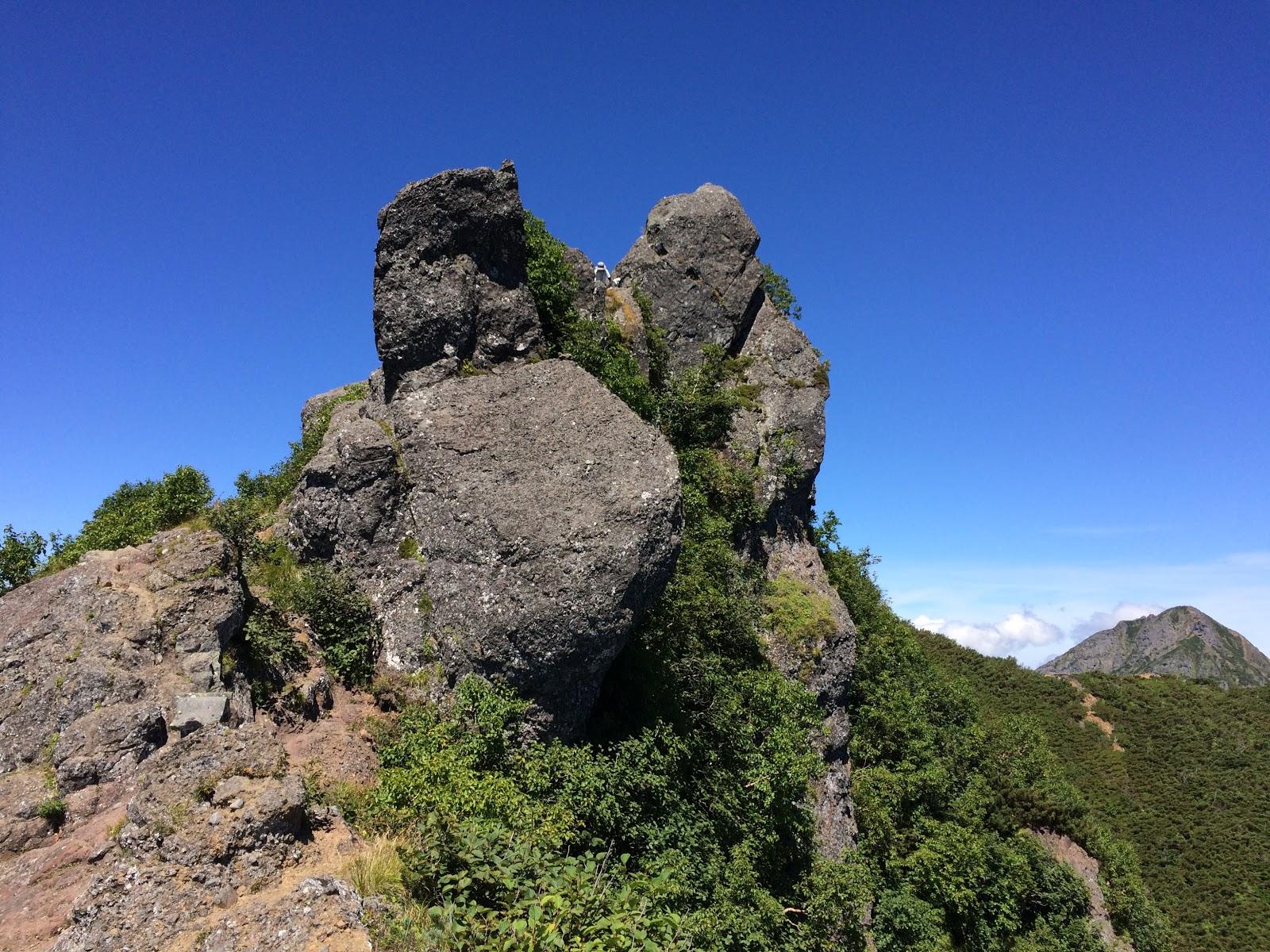 権現岳 山頂