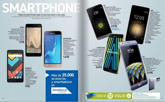 Smartphones Carrefour