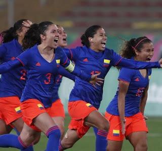 Goles Seleccion Colombia Femenina