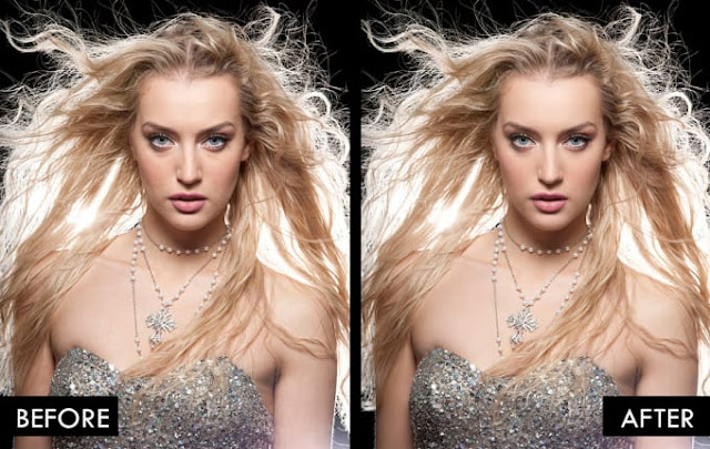 I will make your skin and makeup flawless in photoshop